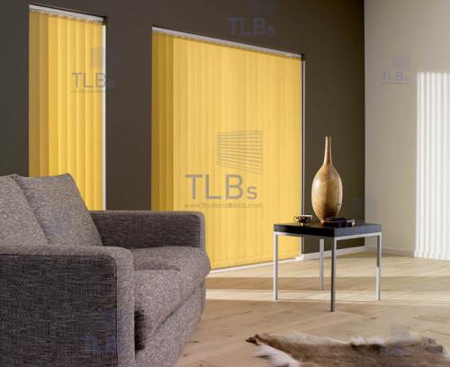 ม่านปรับแสง TLBs โปร่งแสง (เชือกปรับ) ขนาดใบ 8.9 ซม.ผ้า B8616