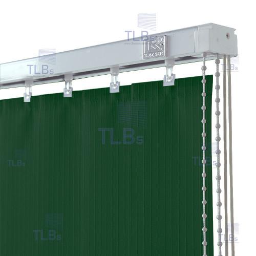 ม่านปรับแสง TLBs โปร่งแสง (เชือกปรับ) ขนาดใบ 8.9 ซม.ผ้า B8618