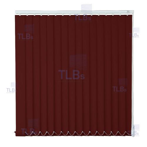 ม่านปรับแสง TLBs โปร่งแสง (เชือกปรับ) ขนาดใบ 8.9 ซม.ผ้า B8622