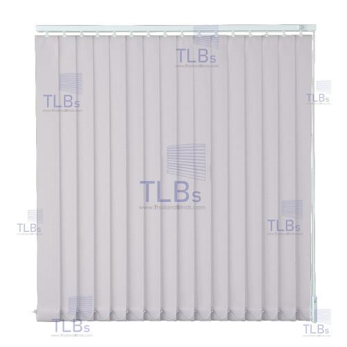ม่านปรับแสง TLBs โปร่งแสง (เชือกปรับ) ขนาดใบ 8.9 ซม.  ผ้า B801-33