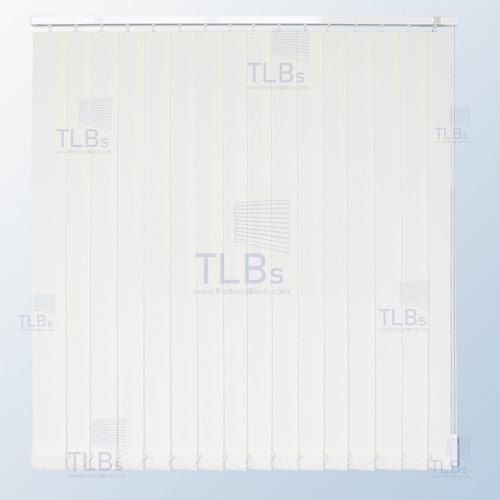 ม่านปรับแสง TLBs โปร่งแสง (เชือกปรับ) ขนาดใบ 8.9 ซม. ผ้า VX-001