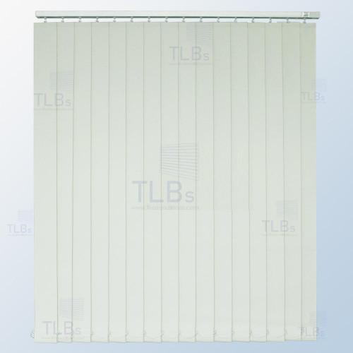 ม่านปรับแสง TLBs ทึบแสง (เชือกปรับ) ขนาดใบ 8.9 ซม. ผ้า F7401
