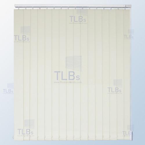 ม่านปรับแสง TLBs ทึบแสง (เชือกปรับ) ขนาดใบ 8.9 ซม. ผ้า F7403