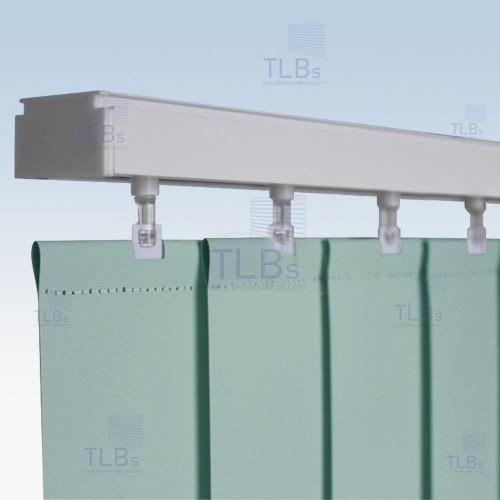 ม่านปรับแสง TLBs ทึบแสง (เชือกปรับ) ขนาดใบ 8.9 ซม. ผ้า F7405 1