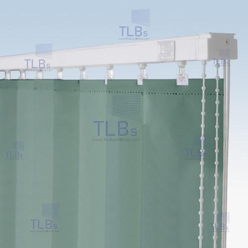 ม่านปรับแสง TLBs ทึบแสง (เชือกปรับ) ขนาดใบ 8.9 ซม. ผ้า F7405 3