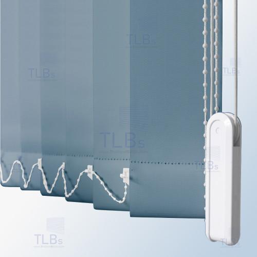 ม่านปรับแสง TLBs ทึบแสง (เชือกปรับ) ขนาดใบ 8.9 ซม. ผ้า F7406 3