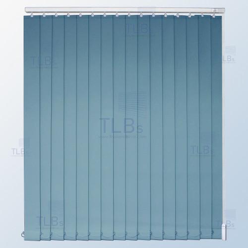 ม่านปรับแสง TLBs ทึบแสง (เชือกปรับ) ขนาดใบ 8.9 ซม. ผ้า F7406 2