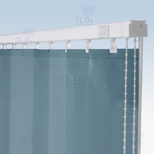 ม่านปรับแสง TLBs ทึบแสง (เชือกปรับ) ขนาดใบ 8.9 ซม. ผ้า F7406 1