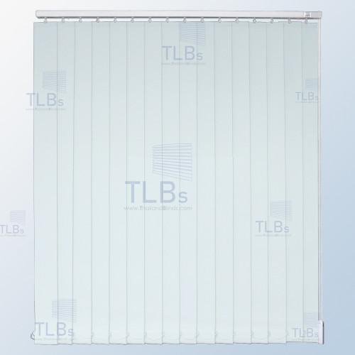 ม่านปรับแสง TLBs ทึบแสง (เชือกปรับ) ขนาดใบ 8.9 ซม. ผ้า F7501