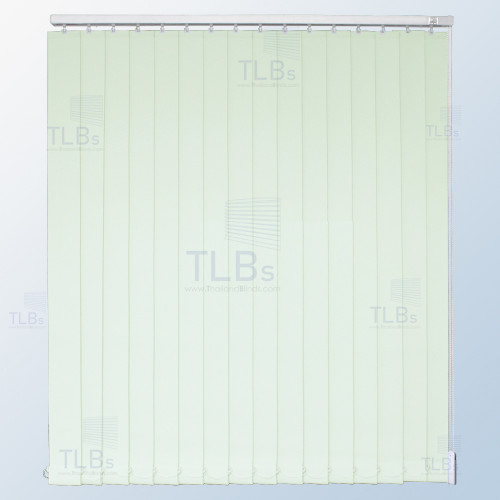 ม่านปรับแสง TLBs ทึบแสง (เชือกปรับ) ขนาดใบ 8.9 ซม. ผ้า F7502