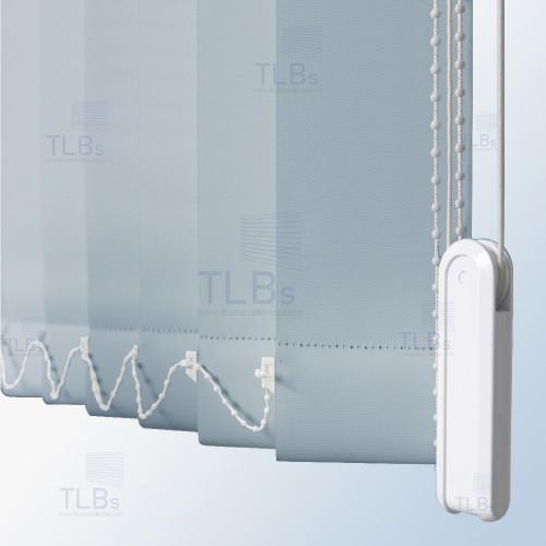 ม่านปรับแสง TLBs ทึบแสง (เชือกปรับ) ขนาดใบ 8.9 ซม. ผ้า F7503 4