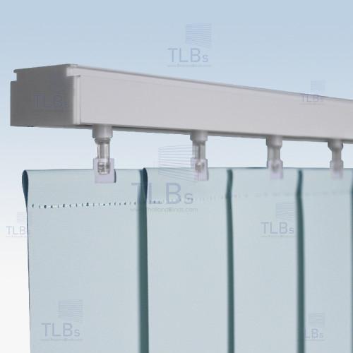 ม่านปรับแสง TLBs ทึบแสง (เชือกปรับ) ขนาดใบ 8.9 ซม. ผ้า F7503 2