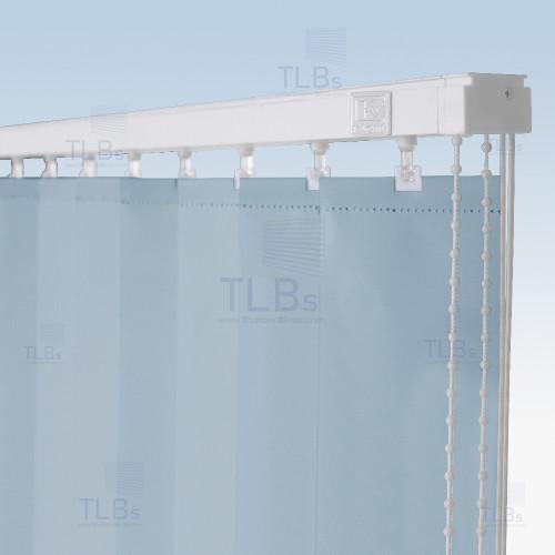 ม่านปรับแสง TLBs ทึบแสง (เชือกปรับ) ขนาดใบ 8.9 ซม. ผ้า F7503 3