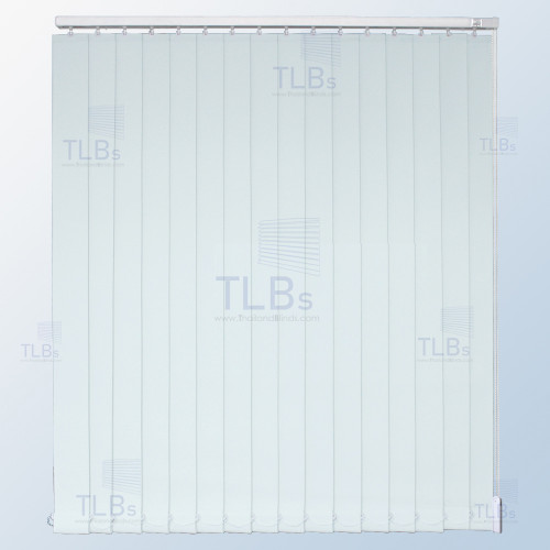 ม่านปรับแสง TLBs ทึบแสง (เชือกปรับ) ขนาดใบ 8.9 ซม. ผ้า FR20327-1