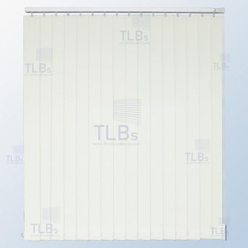 ม่านปรับแสง TLBs ทึบแสง (เชือกปรับ) ขนาดใบ 8.9 ซม. ผ้า FR20327-2