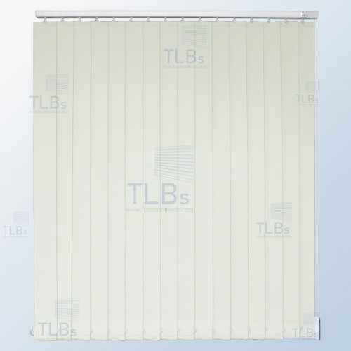 ม่านปรับแสง TLBs ทึบแสง (เชือกปรับ) ขนาดใบ 8.9 ซม. ผ้า FR20327-3