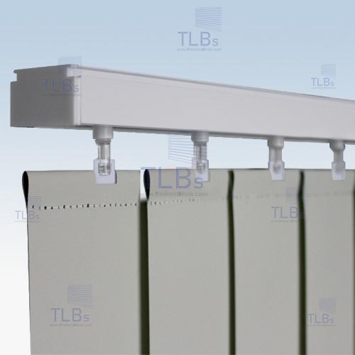 ม่านปรับแสง TLBs ทึบแสง (เชือกปรับ) ขนาดใบ 8.9 ซม. ผ้า FR20327-9