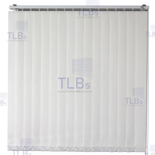 ม่านปรับแสง TLBs ทึบแสง (เชือกปรับ) ขนาดใบ 8.9 ซม (ไม่ลามไฟ). ผ้า ZM2071
