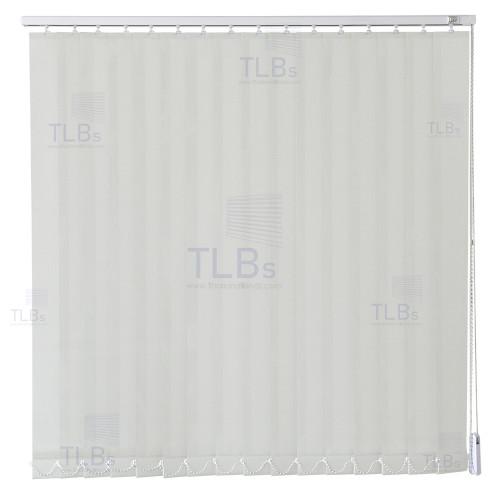 ม่านปรับแสง TLBs ทึบแสง (เชือกปรับ) ขนาดใบ 8.9 ซม (ไม่ลามไฟ). ผ้า ZM2071-2