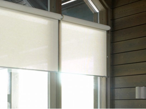 ม่านม้วน TLBs โปร่งแสงเคลือบพีวีซี (โซ่ดึง) ผ้า  เวเนเซีย