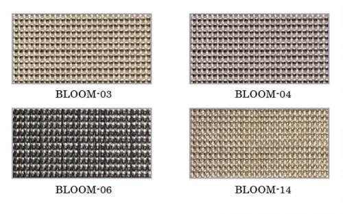 ม่านม้วน TLBs โปร่งแสงเคลือบพีวีซี (โซ่ดึง) ผ้า Bloom 1