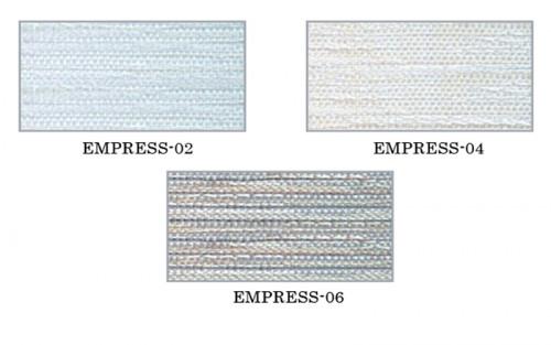 ม่านม้วน TLBs โปร่งแสงเคลือบพีวีซี (โซ่ดึง) ผ้า  Empress 1