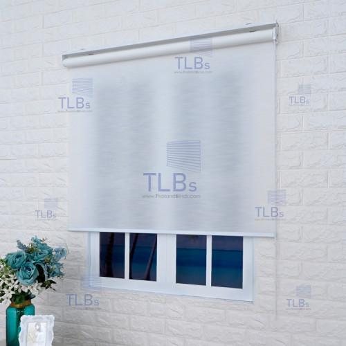 ม่านม้วน TLBs โปร่งแสงเคลือบพีวีซี (โซ่ดึง) ผ้า Crown