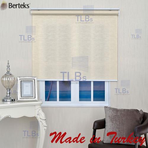ม่านม้วน TLBs โปร่งแสงเคลือบพีวีซี (โซ่ดึง) ผ้า Crown 1
