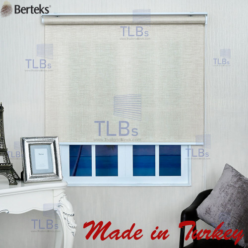 ม่านม้วน TLBs โปร่งแสง (โซ่ดึง) ผ้า FORESTA