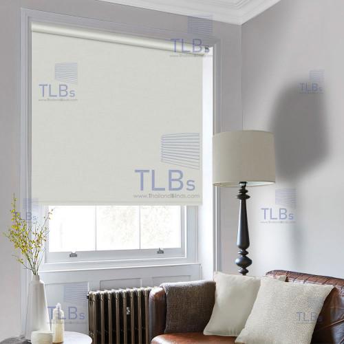 ม่านม้วน TLBs โปร่งแสง (โซ่ดึง) ผ้า FAREWELL (ไม่ลามไฟ)