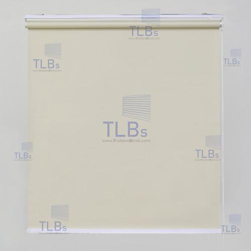 ม่านม้วน TLBs ทึบแสง (โซ่ดึง) ผ้า  NEW YORK