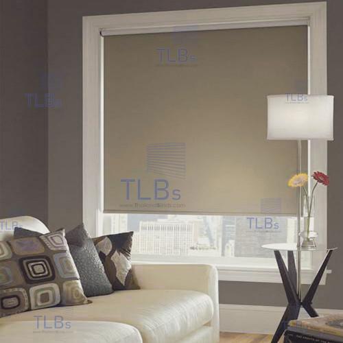 ม่านม้วน TLBs ทึบแสง (โซ่ดึง) ผ้า ATLANTIC 2