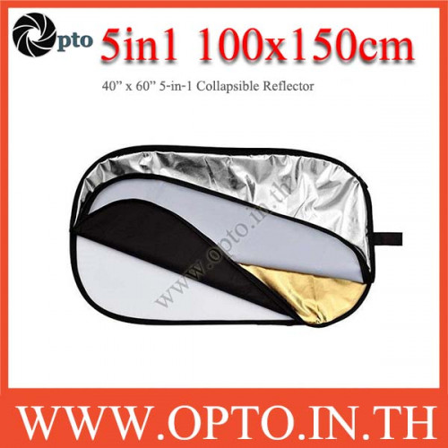 100 x 150cm 5-in-1 Collapsible Reflector
