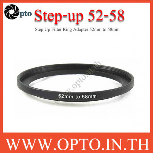 Step Up Filter Ring Adapter 52 to 58  (52mm-58mm)