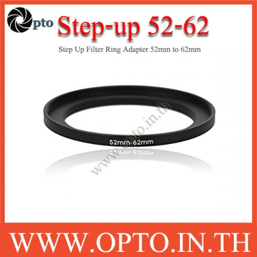 Step Up Filter Ring Adapter 52 to 62  (52mm-62mm)