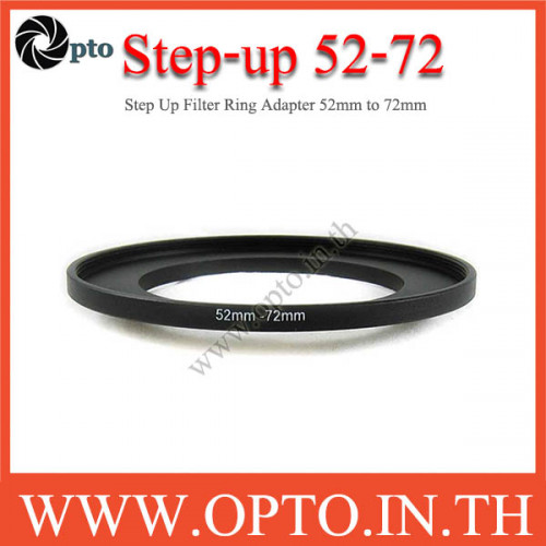 Step Up Filter Ring Adapter 52 to 72  (52mm-72mm)