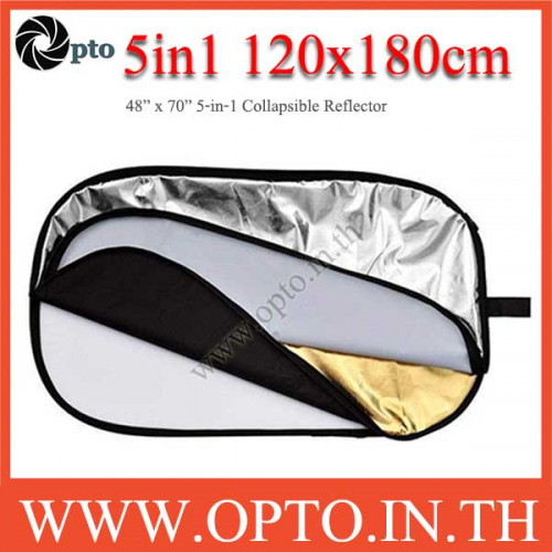 120 x 180cm 5-in-1 Collapsible Reflector
