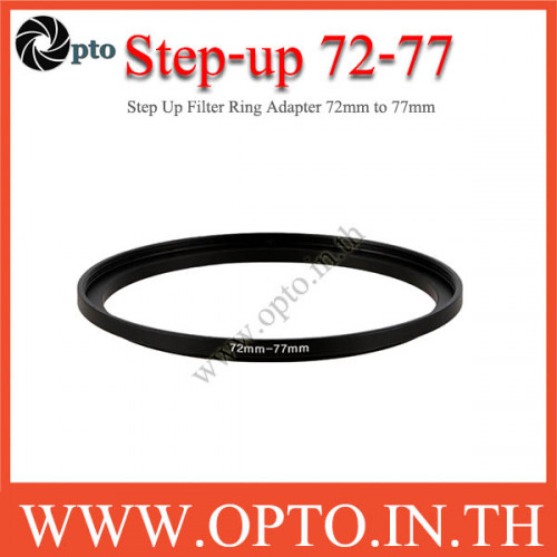 Step Up Filter Ring Adapter 72 to 77  (72mm-77mm)