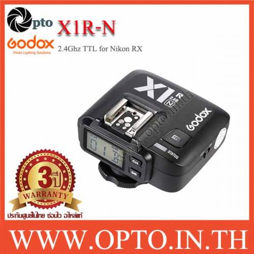 Godox X1R-N Auto TTL 2.4Ghz Wireless Trigger RX for Nikon Flash speedlite ตัวรับแฟลชไร้สายแบบออโต้