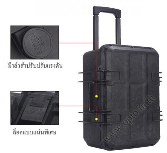 SafeBox Eco36L สีดำ same Pelican Waterproof Case กระเป๋ากล้องกันกระแทกกันน้ำกันความชื้น มีล้อลาก 3