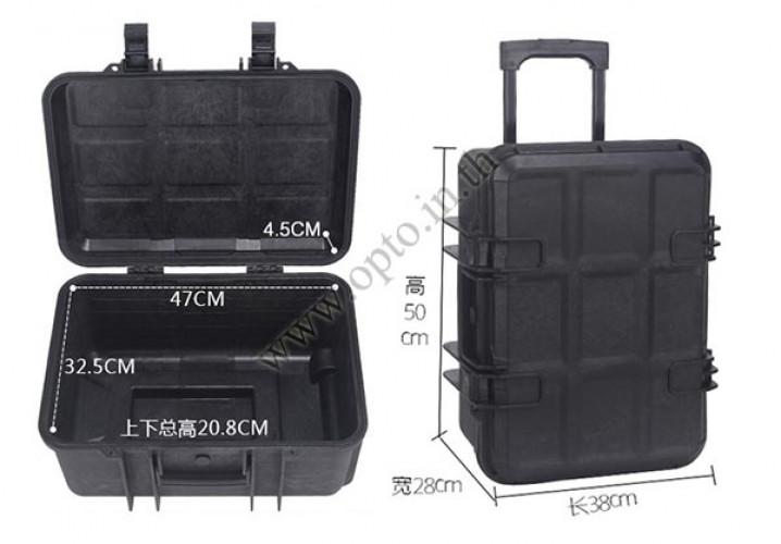 SafeBox Eco36L สีดำ same Pelican Waterproof Case กระเป๋ากล้องกันกระแทกกันน้ำกันความชื้น มีล้อลาก 2
