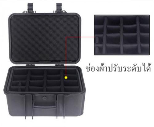 SafeBox Eco36L สีดำ same Pelican Waterproof Case กระเป๋ากล้องกันกระแทกกันน้ำกันความชื้น มีล้อลาก 4