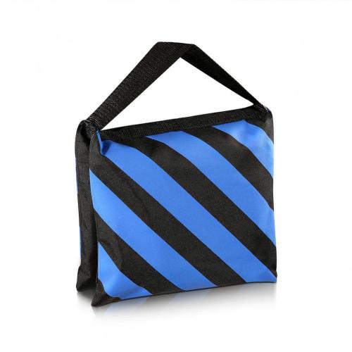 Sand Bag Blue Color Light Stand and Boom Stand ถุงทรายถ่วงขาตั้งไฟสตูดิโอ ถุงทรายถ่วงขาบูม
