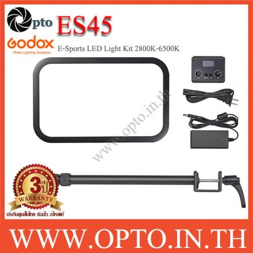 ES45Kit Godox E-Sports LED Light Kit 2800K-6500K App + Remote ไฟต่อเนื่องสำหรับเกมส์เมอร์