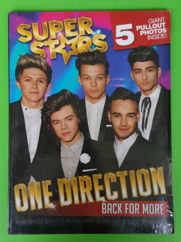 ONE DIRECTION BACK FOR MORE