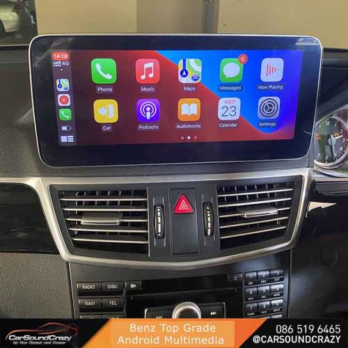 Benz W212 Android จอใหญ่ 10.25 นิ้ว ตรงรุ่น 4