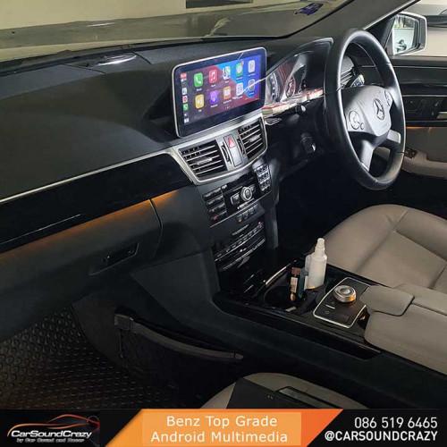 Benz W212 Android จอใหญ่ 10.25 นิ้ว ตรงรุ่น 3