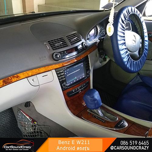 Benz W211 E Class (2002-2008) Android DVD GPS ตรงรุ่น