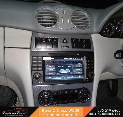 Benz W209 CLK Class (2006-2011) Android DVD GPS ตรงรุ่น