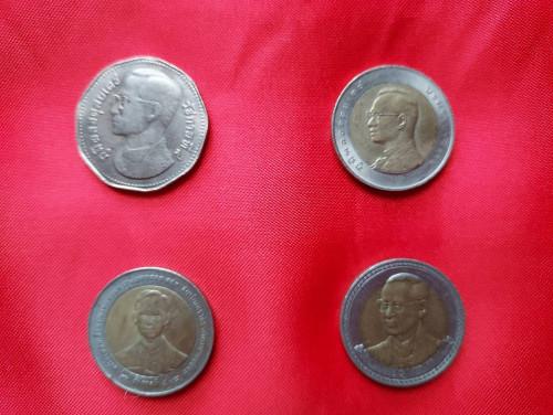 เหรียญสะสม ผ่านการใช้งาน